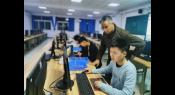 河南职业教育对新疆生产建设兵团第十三师职业技术学校师生进行技能竞赛集训